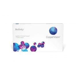 Biofinity - 3szt. + gratis
